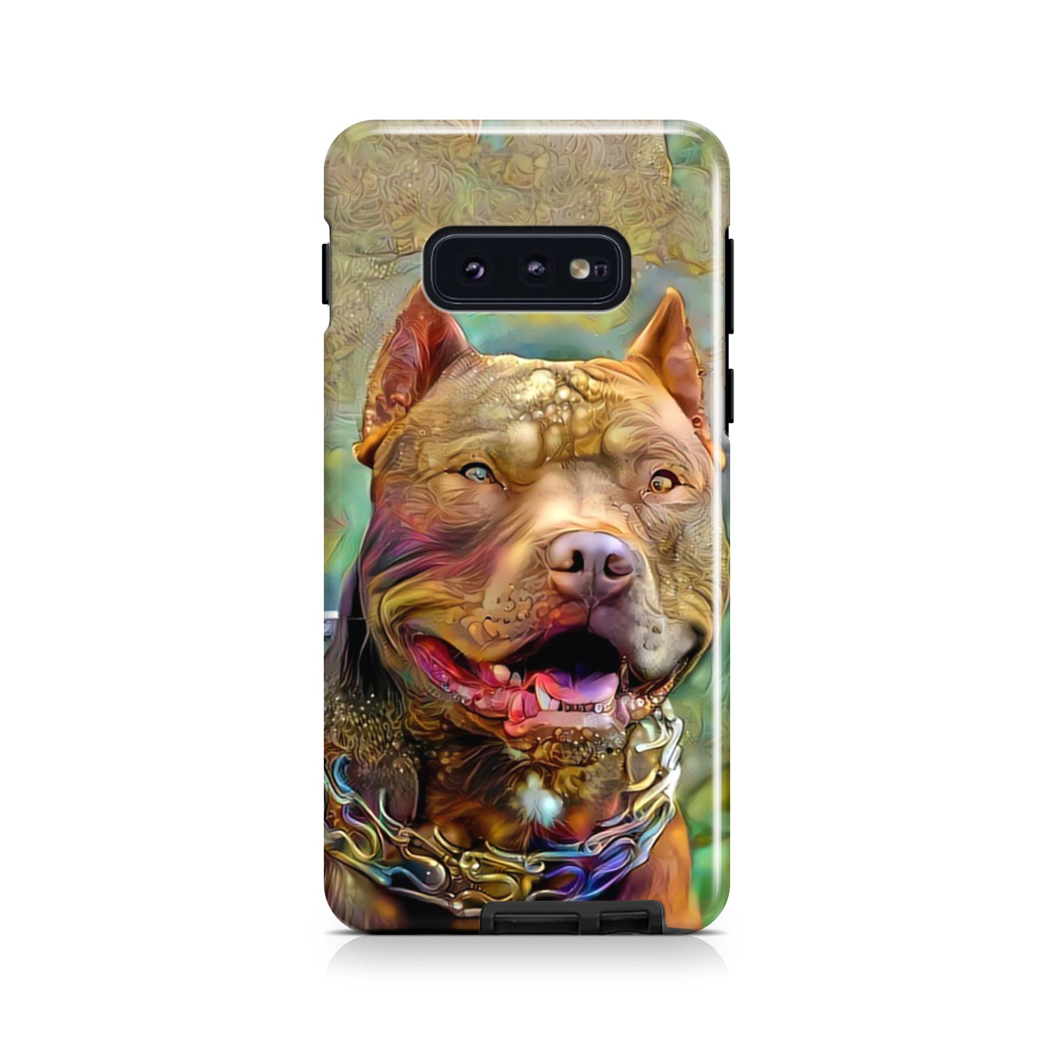 Custom Pet Portrait | Turquoise & Teal Dream Phone Case By Mind Chill Artists