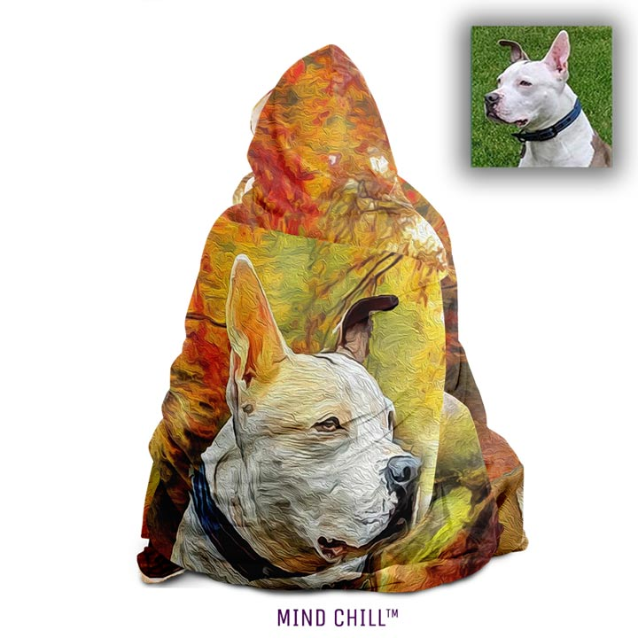 mind chill, custom pet blanket, custom pet blankets, custom pet blanket gift, gifts for cat lovers, gifts for dog lovers
