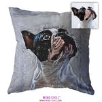 Urban Graphic Mind Chill, custom pet pillow, custom pet photo pillow, custom pillow of your pet