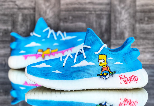 """Simpsons"" Yeezy 350 Boost [5 Pair Run]"