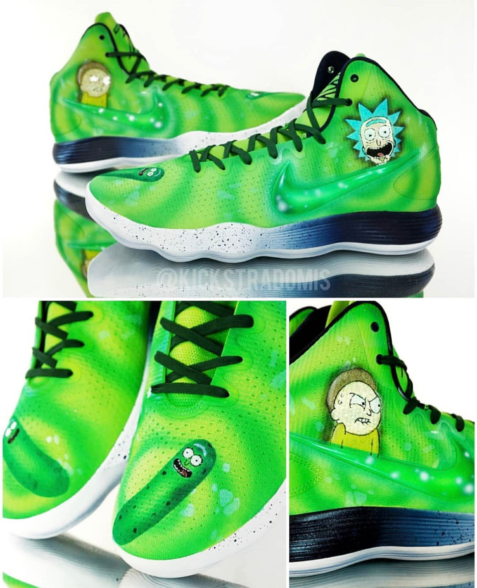 "Karl Anthony Towns ""Rick & Morty"" Nike Hyperdunk ..."