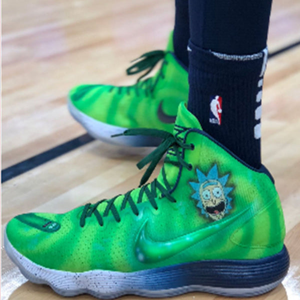 "Karl Anthony Towns ""Rick & Morty"" Nike Hyperdunk"