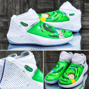 """Rick & Morty"" Jordan Why Not Zero.1 [7 Pair Run]"