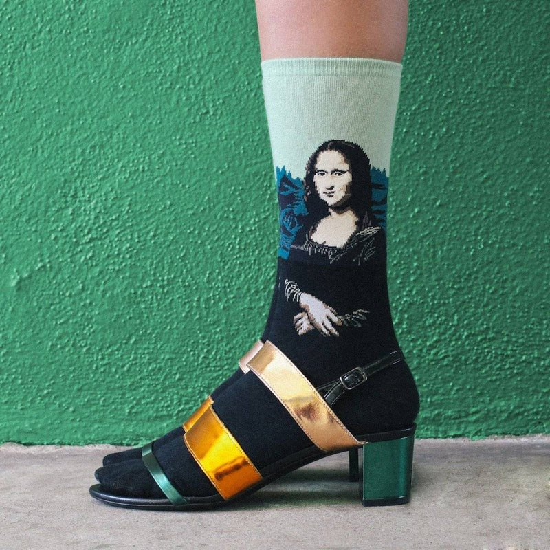 Mona Lisa Socks - Green