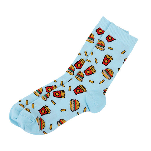 Burger & Fries Socks