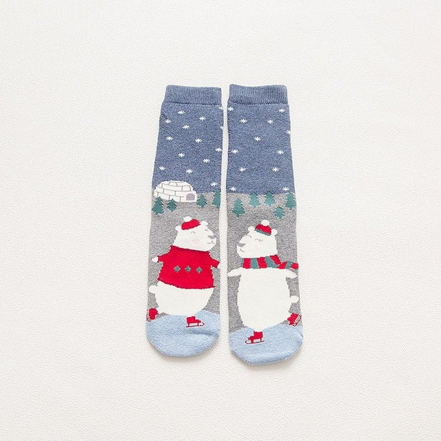 Polar Dance Socks
