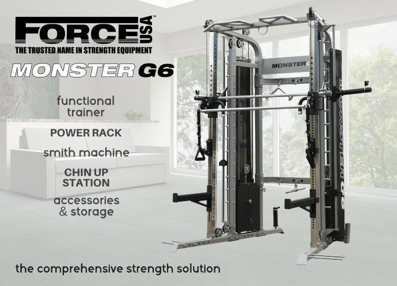 Force USA Monster G6 Functional Trainer, Power Rack, Smith Machine Combo