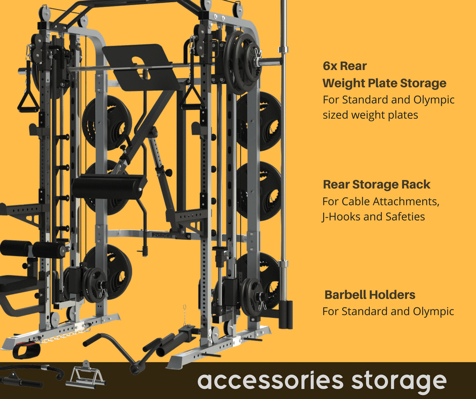 Force USA - Monster G3 Functional Trainer, Power Rack, Smith Machine Combo Base