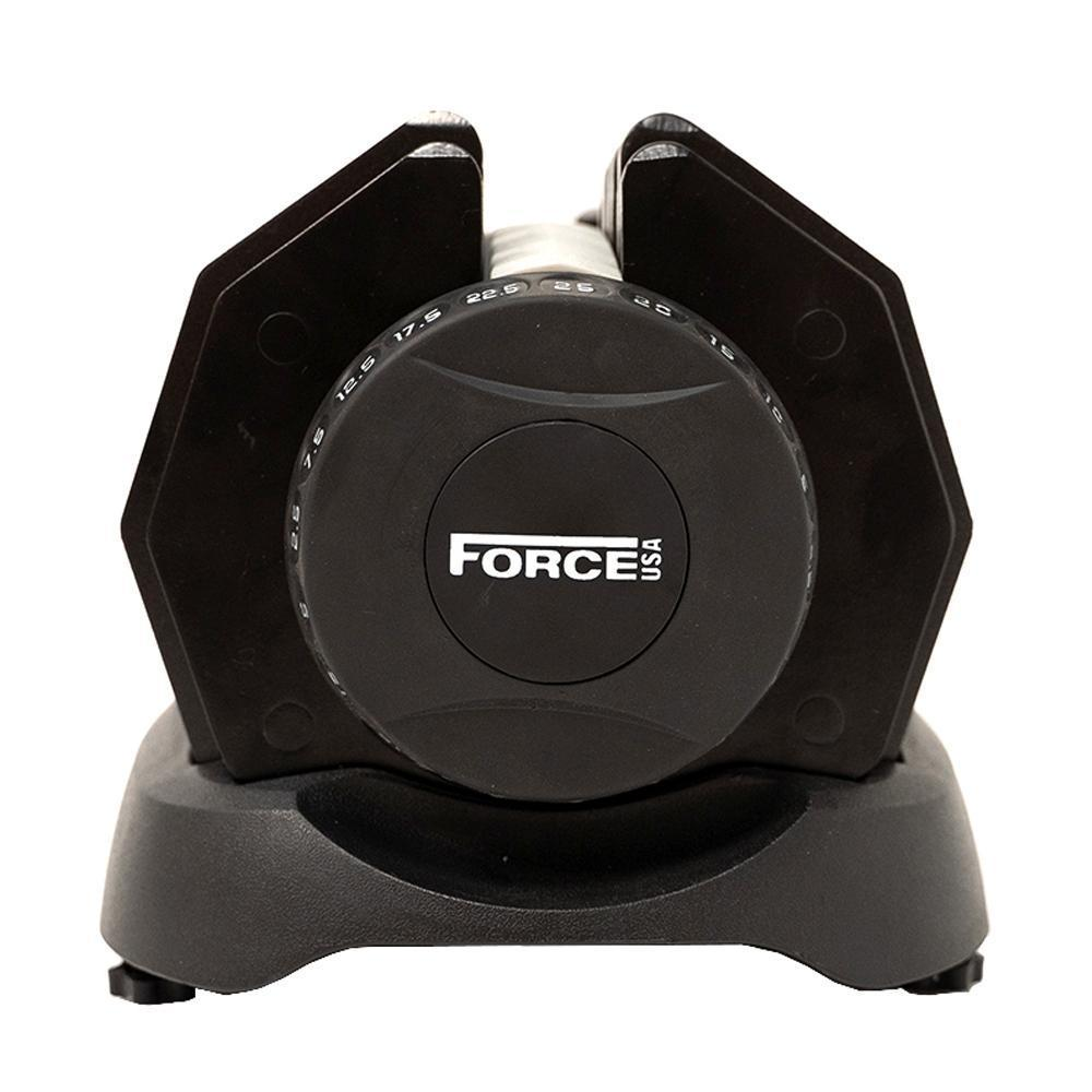 Force USA Adjustable Dumbbell and Bench Package 1