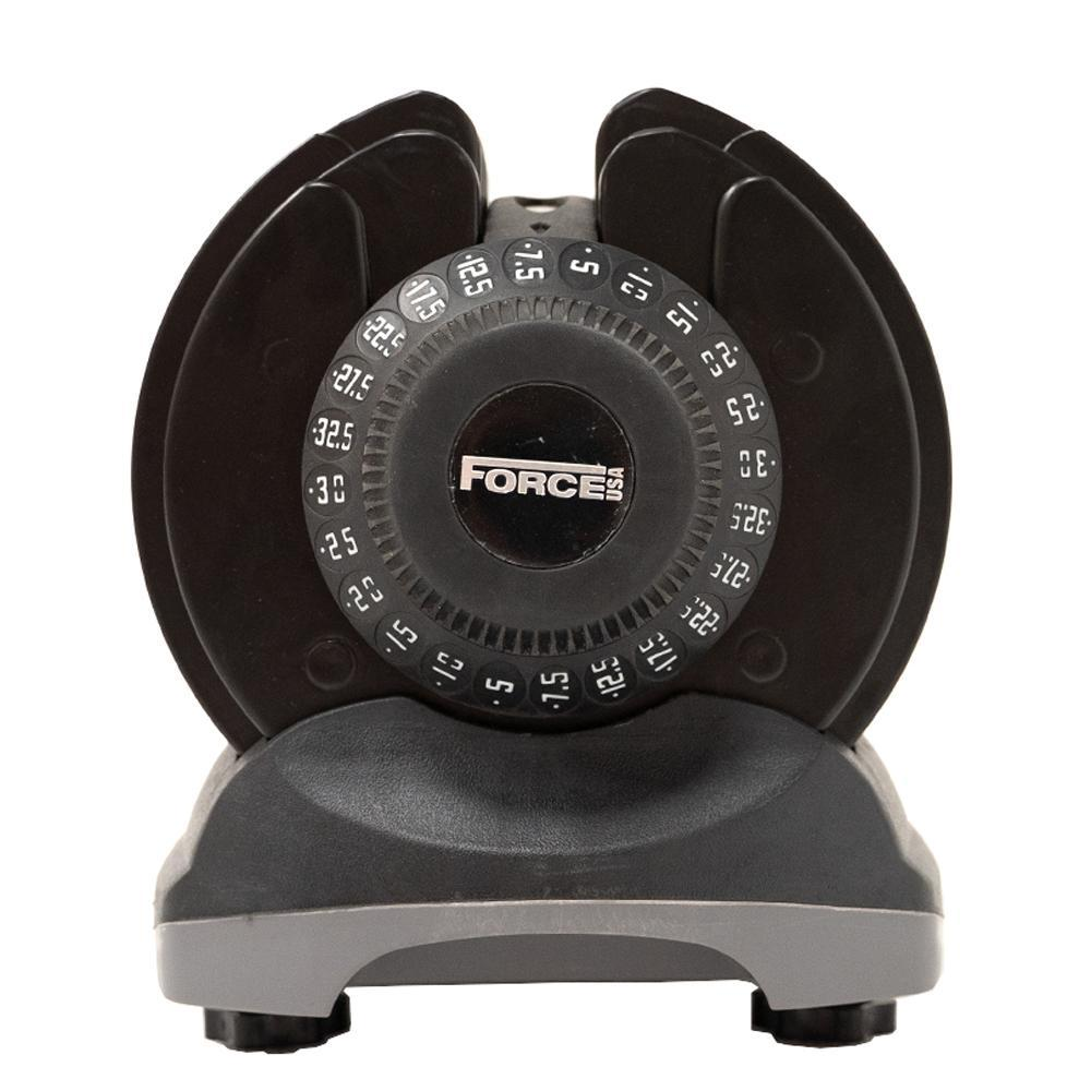 Force USA Adjustable Dumbbell and Bench Package 2