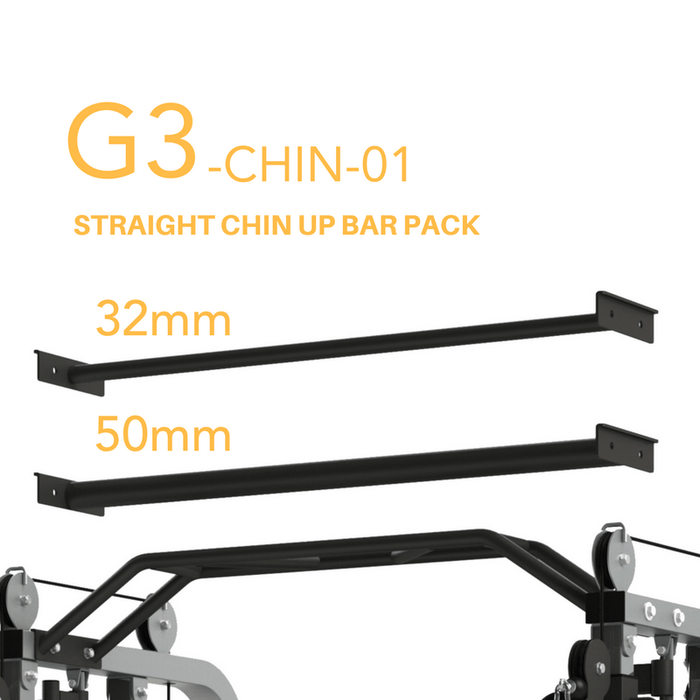 Force USA - Monster G3 Functional Trainer - 32mm and  50mm Straight Chin up bar option