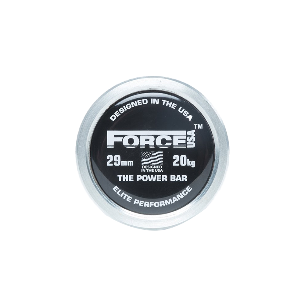 Force USA Powerlifting Barbell (IPF Specifications - Competition Tested)