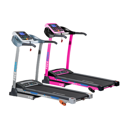 Freeform Cardio F20 Treadmill - Blue / Pink