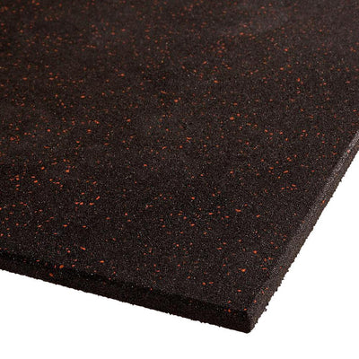 VersaFit Flooring Commercial Rubber Flooring Tile - Red Fleck