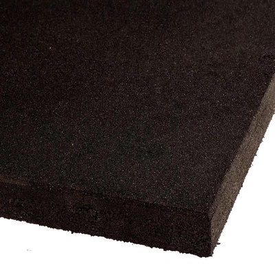 VersaFit Flooring FatTile High Density Platform Tile - 1m x 1m x 50mm(black)