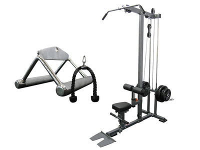 Force USA Lat Pull/Low Row Combo & Cable Attach Pack 3