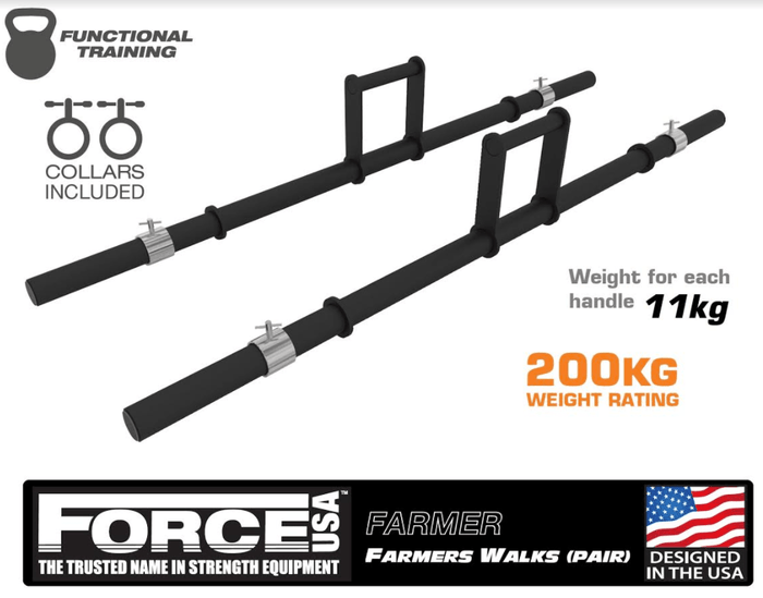 Force USA Farmers Walks (Pair)
