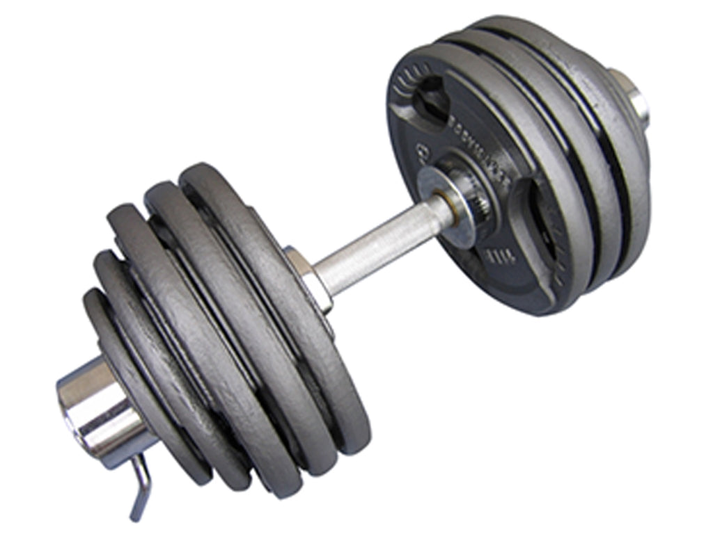 50cm Olympic Dumbbells - Bearings w/  2 pair of Screw Collars