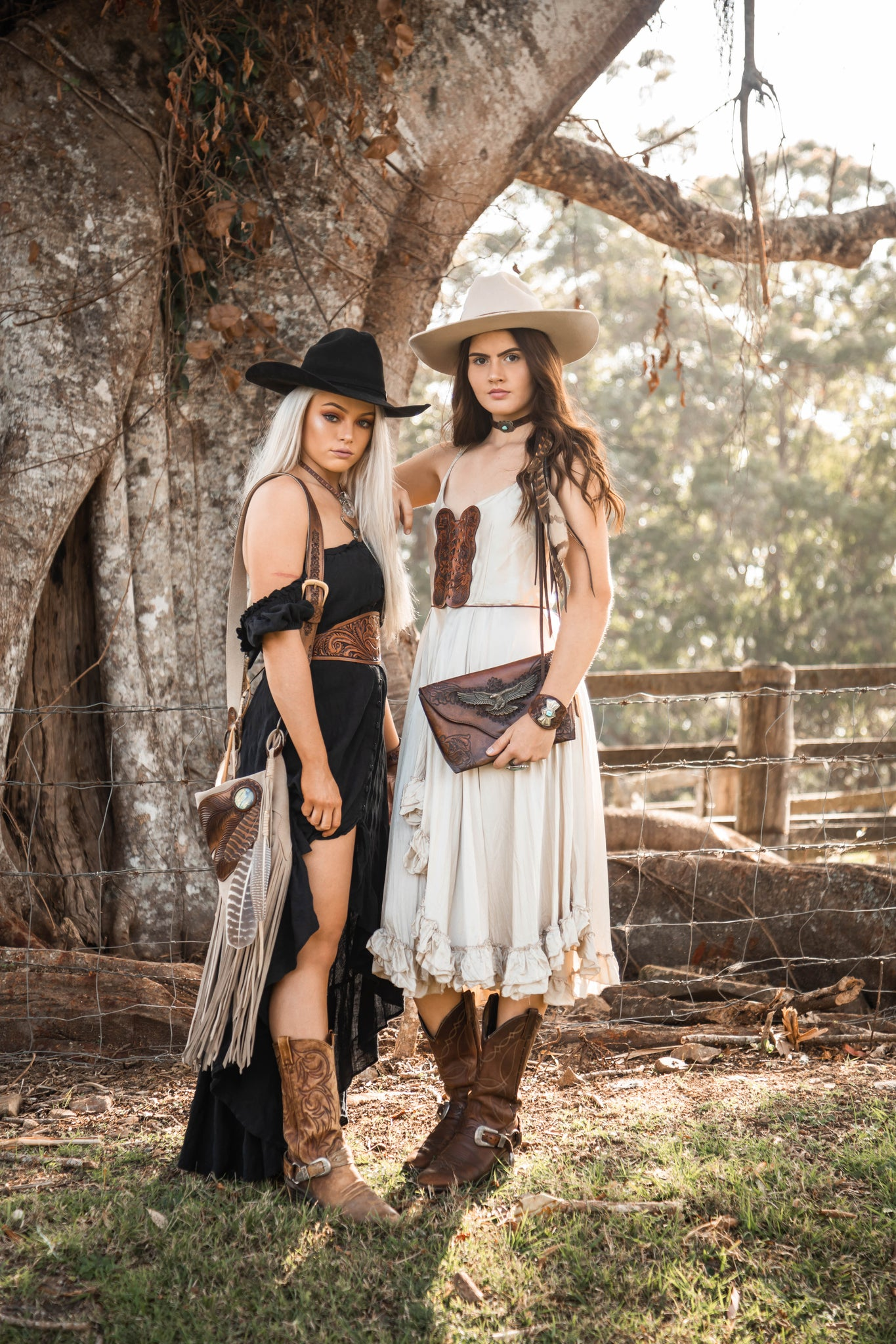 Boho western style apparel and accessories