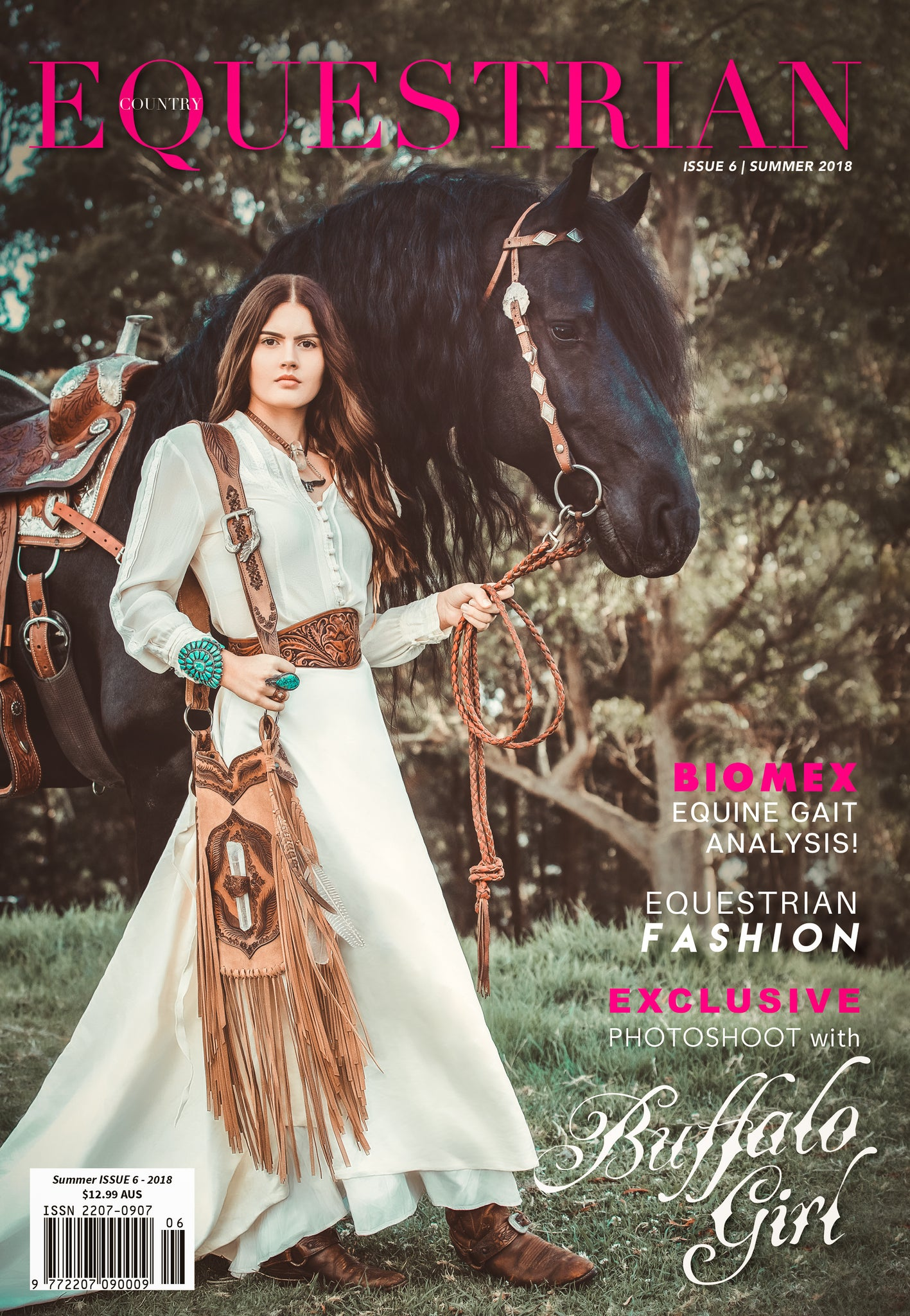 Equestrian Country Magazine Buffalo Girl