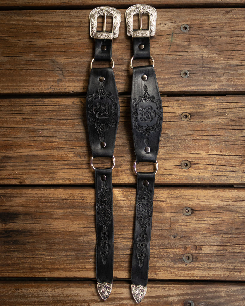 Western Eagle Boot Straps