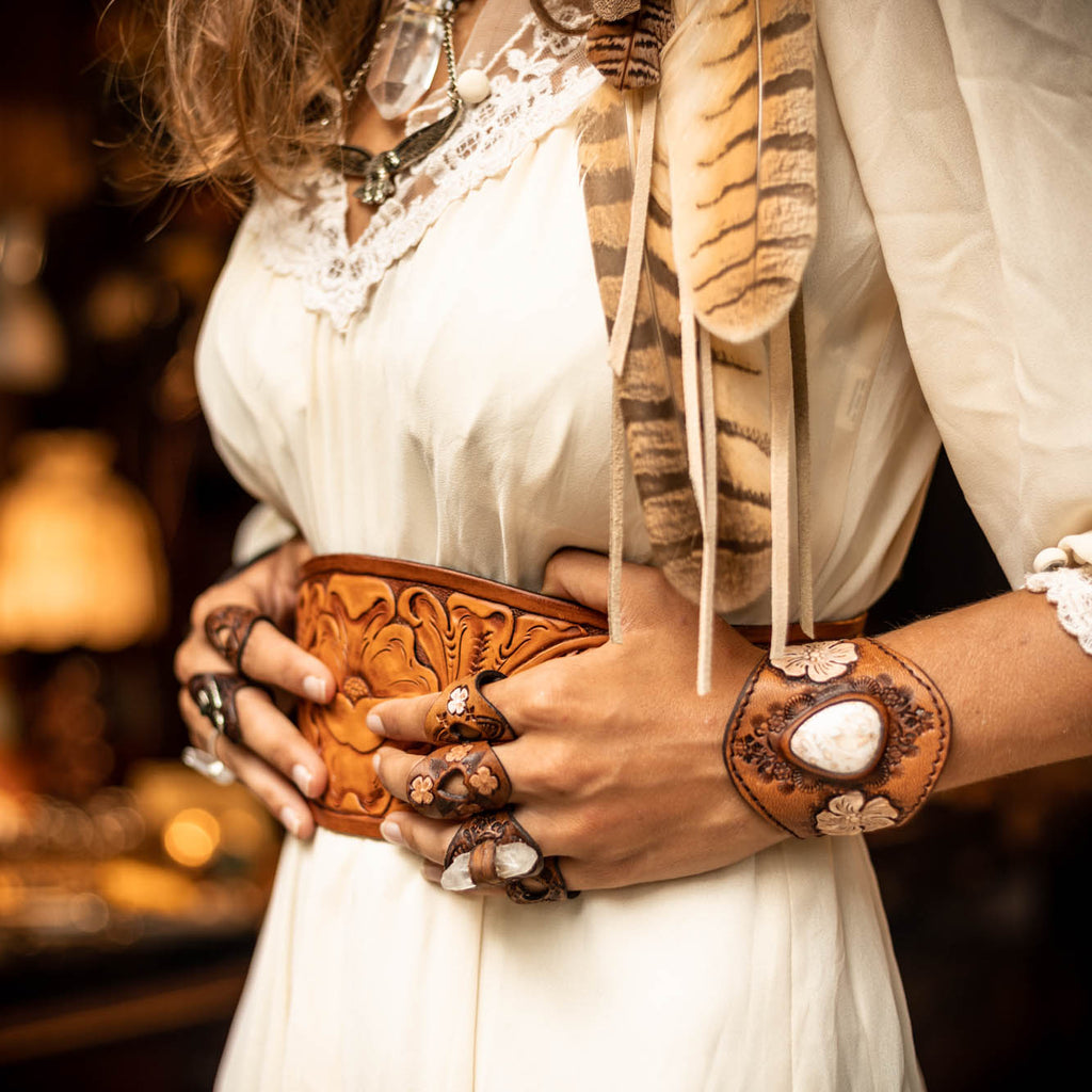 Wild West Belt - Buffalo Girl