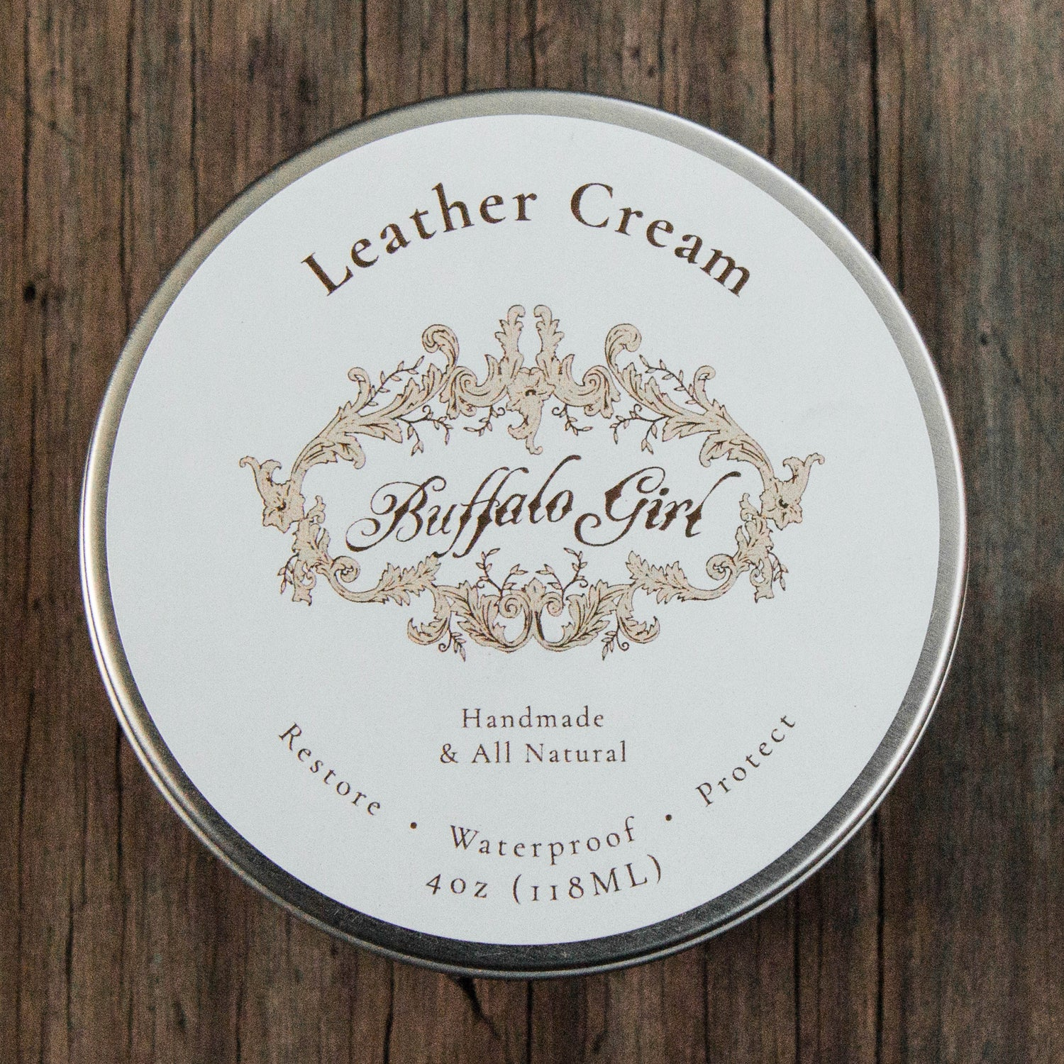 Buffalo Girl Leather Cream - Buffalo Girl