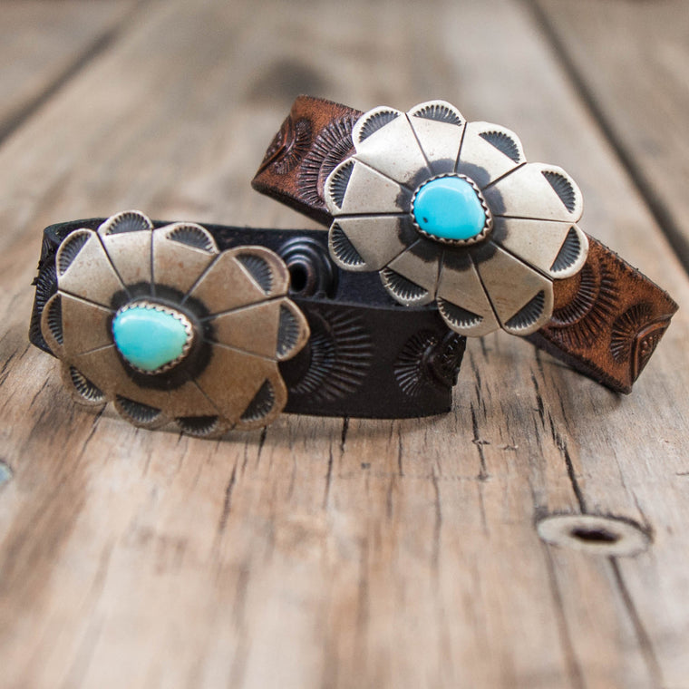 Little Navajo Concho Cuff