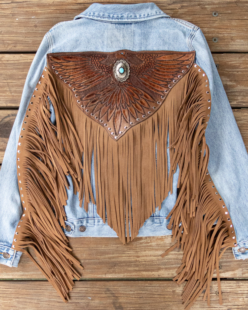 Easy Rider Tasseled Eagle Jacket