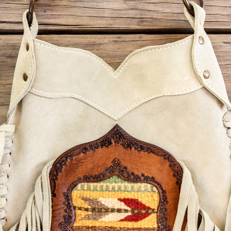 Santa Fe Tasseled Bag