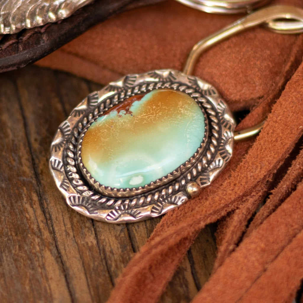 navajo-silver-key-chain-turquoise