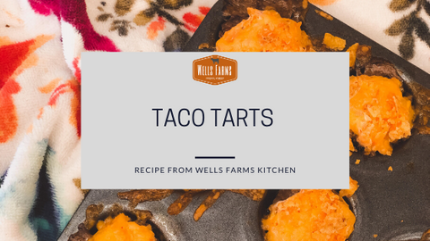 Taco Tarts - Wells Farms Premium Beef - Locally raised beef near Madison, Wisconsin
