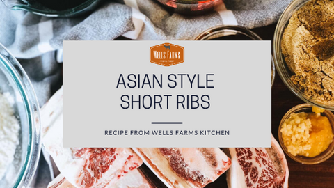 Asian Style Short Ribs- Crockpot/Slow cooker recipe - Wells Farms Premium Beef - Madison, Wisconsin