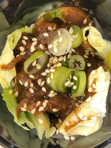 Wells Farms Premium Beef - Instant Pot Beef Lettuce Wraps - Chuck Roast - Madison, Wisconsin's Choice for Local Beef