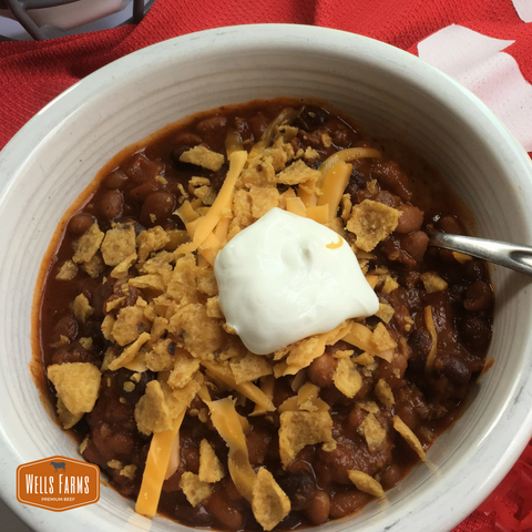 Wells Farms Game Day Chili