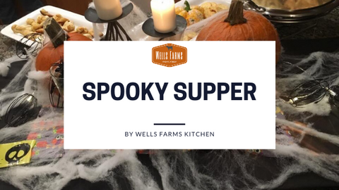 Spooky Supper - Halloween themed dinner party - Wells Farms Premium Beef - Rio, Wisconsin - Madison's source for local beef