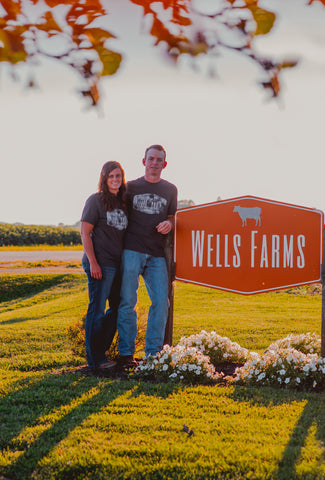 Kenny and Sarah Wells - Wells Farms Premium Beef - Local Beef near Madison, Wisconsin