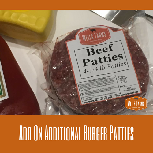 Add on Beef Patties to Your Bundle Purchase