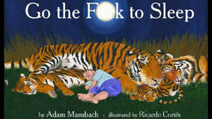 Go the fu@# to sleep book