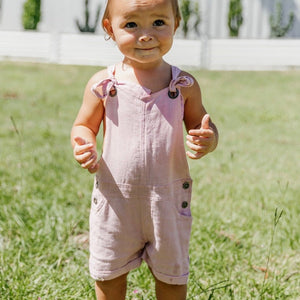 Olas Supply Co: Emily Overalls Lilac