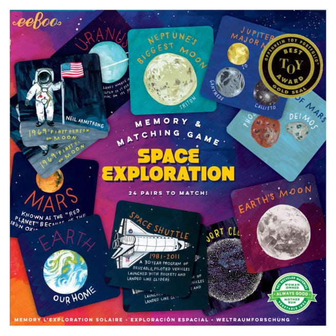 Memory Match: Space Exploration