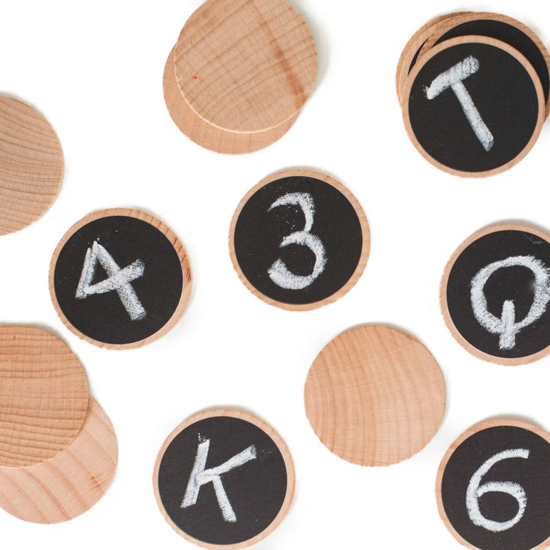 Wooden Buttons: Create & Play