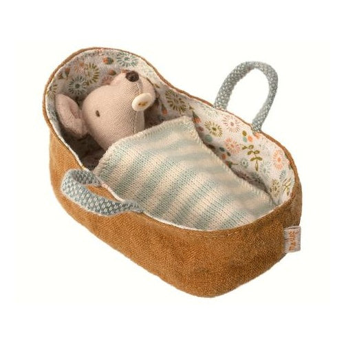 Maileg: Carry Cot Micro (Mustard)