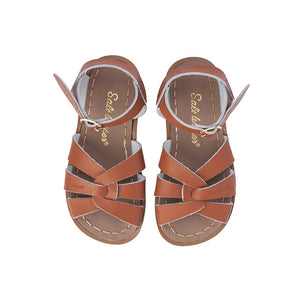 Saltwater Sandal: Kids Original Tan