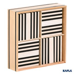KAPLA: Black & White 100 Piece Box