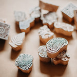 Hand Carved Wooden Stamps 2 Pack (assorted)