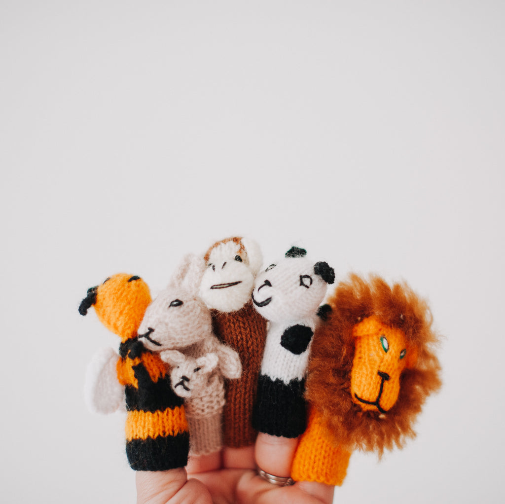 Finger Puppets 3 Pack (Assorted)