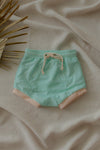 Nudie Bumm: Krew Short Green Lily