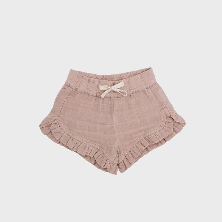 Muslin Frilly Shorts: Isla