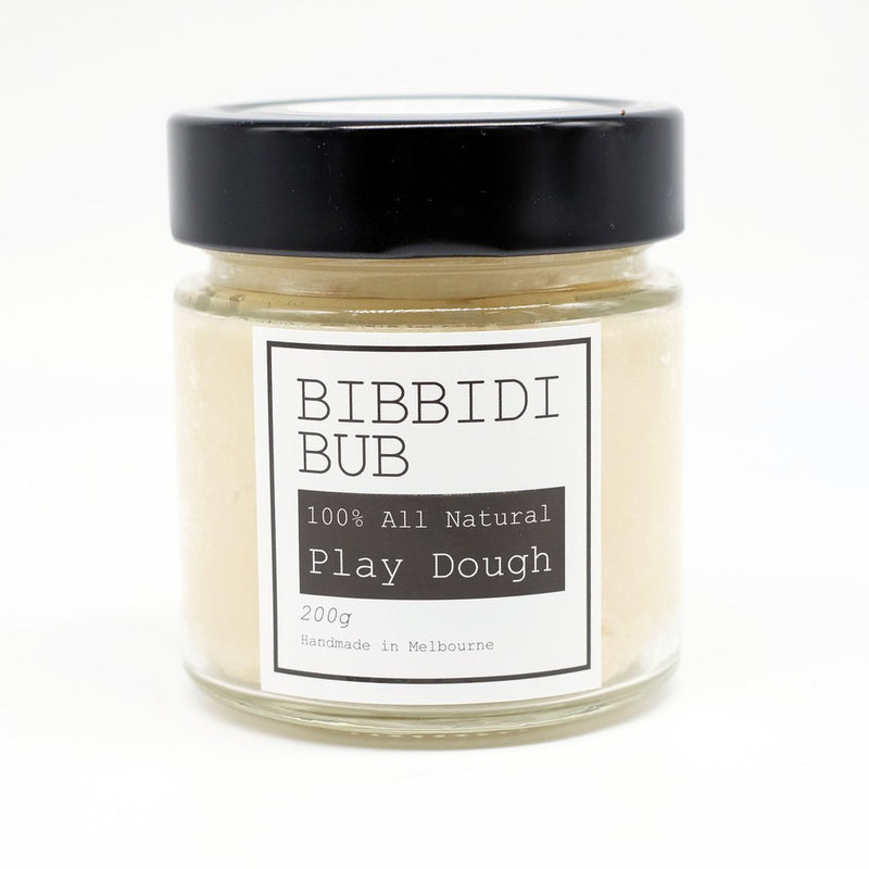 Bibbidi Bub: Natural Playdough Vanilla